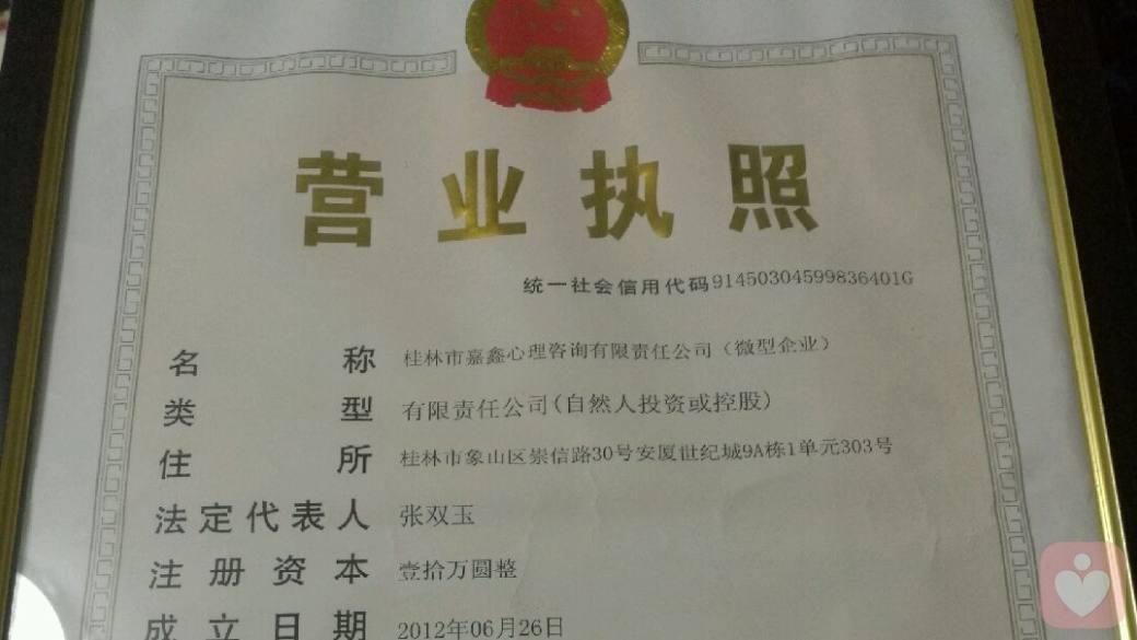 嘉鑫经营许可证